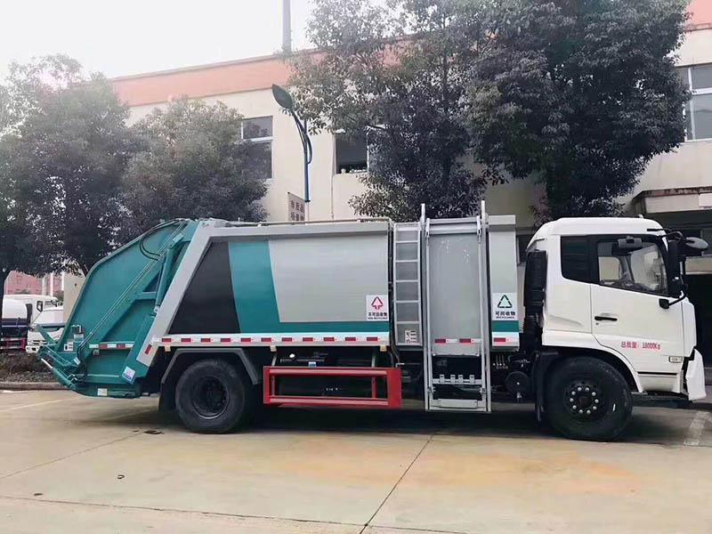 东风天锦压缩垃圾车