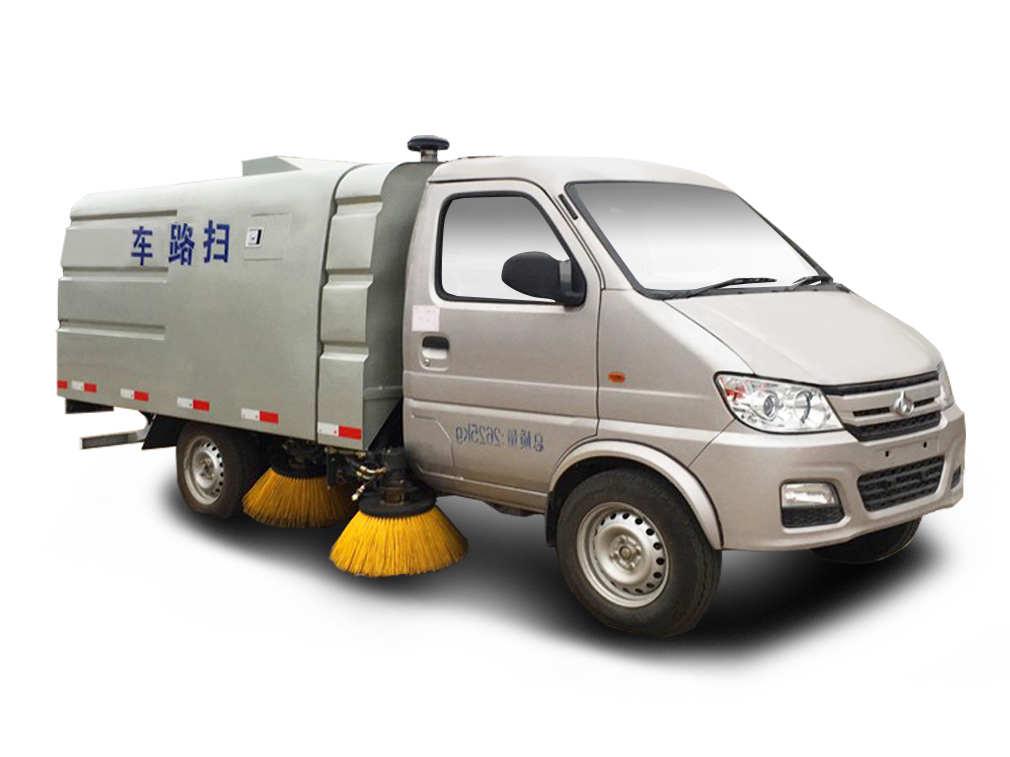長安小區掃路車